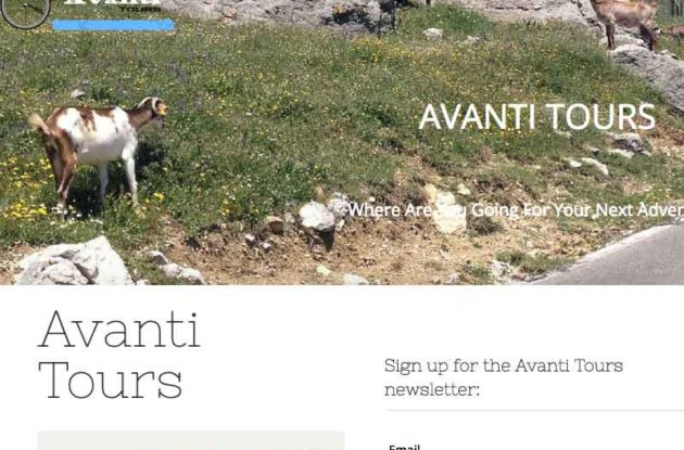 Portfolio Evolutionweb Avanti Tours