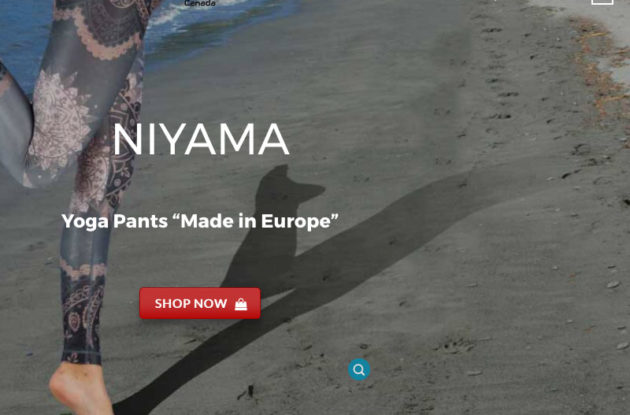 Portfolio Evolutionweb Niyama Shop